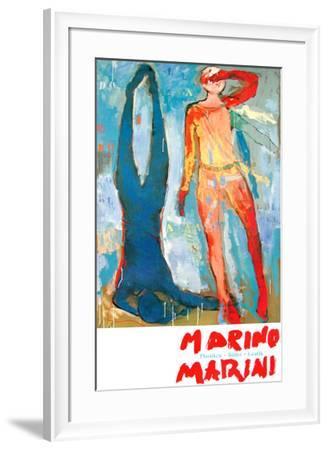 Two Figures-Marino Marini-Framed Art Print