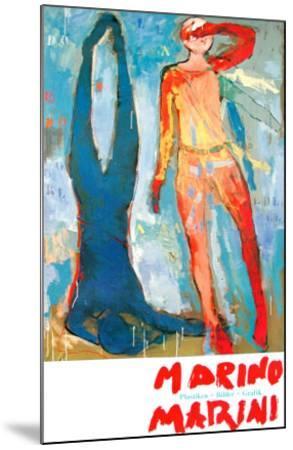 Two Figures-Marino Marini-Mounted Art Print