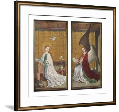 The Annunciation-Stephan Lochner-Framed Collectable Print