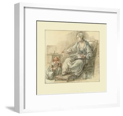 Lady Writing-Francois Gu?rin-Framed Collectable Print
