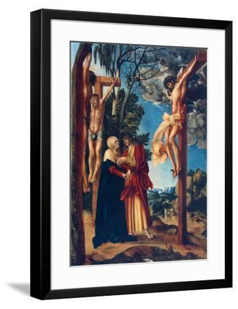 Crucifixion-Lucas Cranach the Elder-Framed Collectable Print