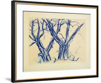 Two Old Lime Rrees-Christian Rohlfs-Framed Collectable Print
