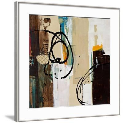 Abstract Collage III-Bridges-Framed Art Print