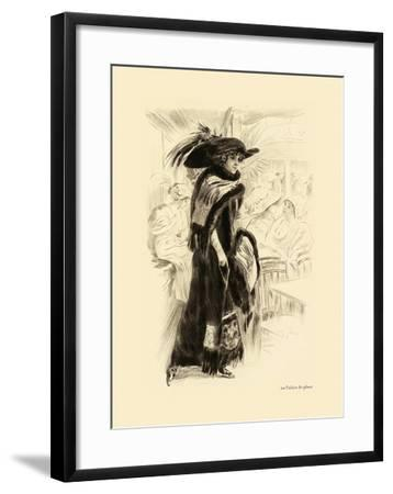 Au Palais De Glace--Framed Premium Giclee Print