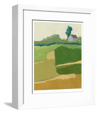Rural Vista I-Chariklia Zarris-Framed Limited Edition