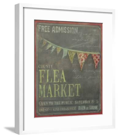 County Flea Market-Mandy Lynne-Framed Art Print