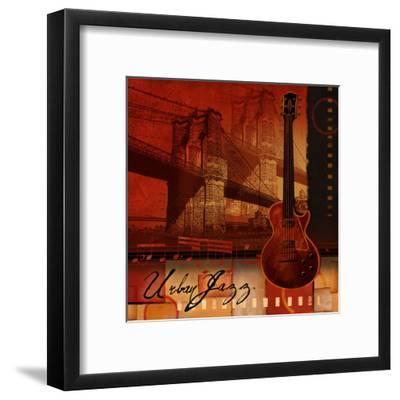 Urban Jazz-Conrad Knutsen-Framed Art Print