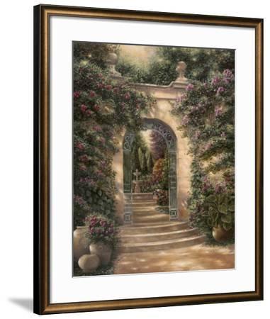 Watson's Garden I-Betsy Brown-Framed Art Print
