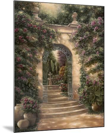 Watson's Garden I-Betsy Brown-Mounted Art Print