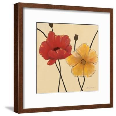Awaited Blooms I-Carol Robinson-Framed Art Print