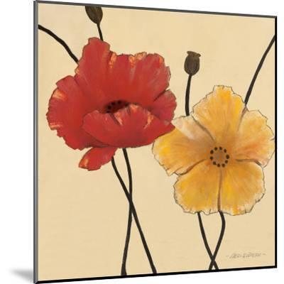 Awaited Blooms I-Carol Robinson-Mounted Art Print