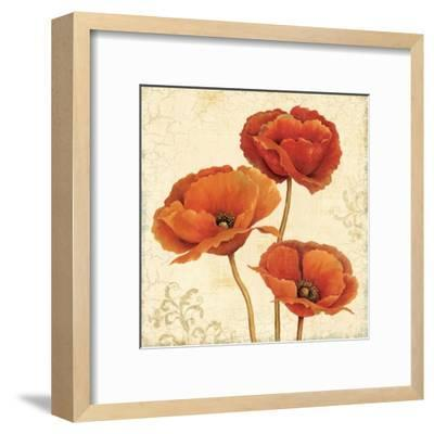 Poppy Bouquet II-Daphne Brissonnet-Framed Art Print