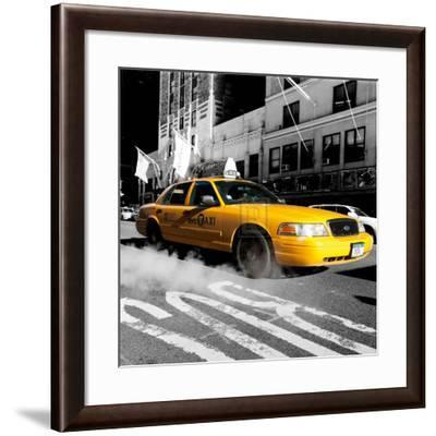 City Streets IV-Joseph Eta-Framed Art Print
