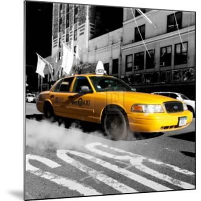 City Streets IV-Joseph Eta-Mounted Art Print