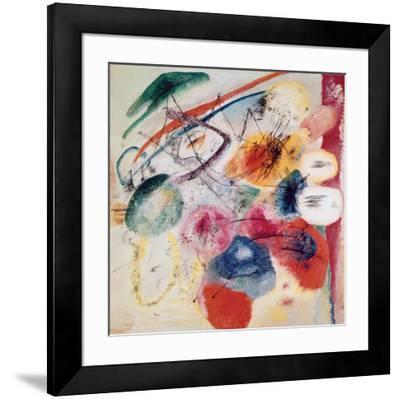 Black Lines, 1913-Wassily Kandinsky-Framed Art Print