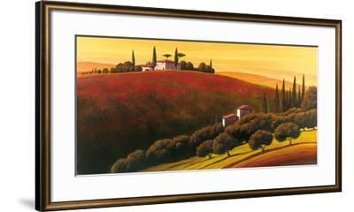 Tuscan Skyline I-Cimino-Framed Art Print