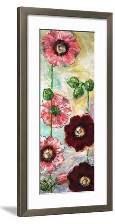 Roses Trémières II-Mette Galatius-Framed Art Print