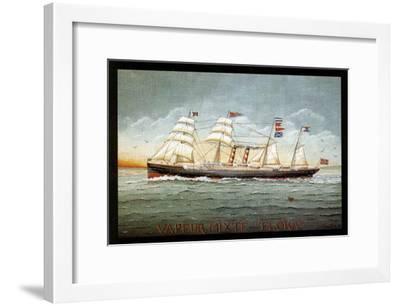 Vapeur Mixte Flora-Dominique Perotin-Framed Art Print