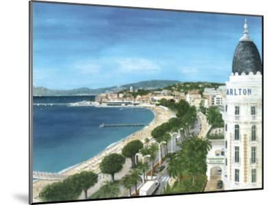 Cannes-Gerard Malon-Mounted Art Print