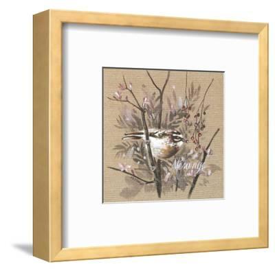 Mésange-Pascal Cessou-Framed Art Print