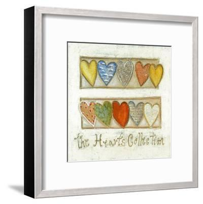 The Hearts Collection-Roberta Ricchini-Framed Art Print