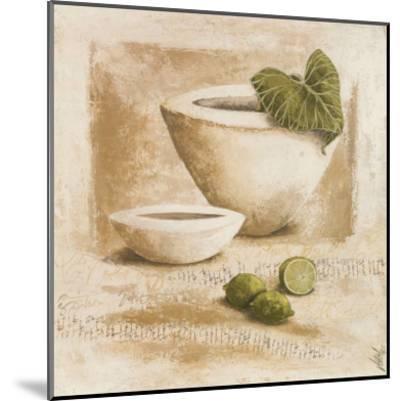 Citrons Verts-V?ronique Didier-Laurent-Mounted Art Print