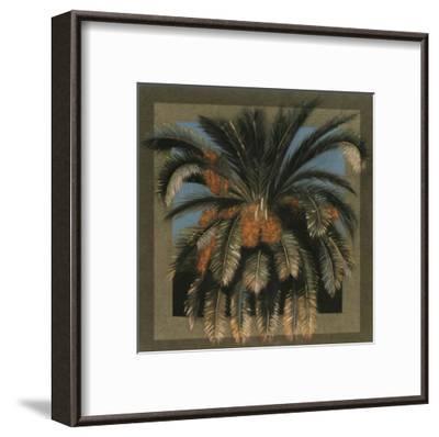 Palmier Fleur-A^C^ Jacquin-Framed Art Print