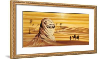 Caravan I-Ali Mansur-Framed Art Print