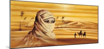 Caravan I-Ali Mansur-Mounted Art Print