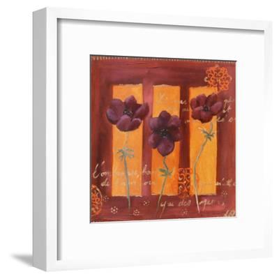 3 Anémones-Loetitia Pillault-Framed Art Print