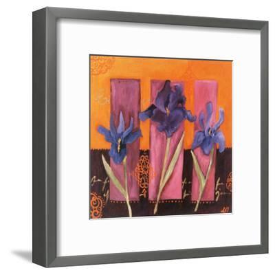 3 Iris-Loetitia Pillault-Framed Art Print
