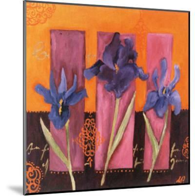 3 Iris-Loetitia Pillault-Mounted Art Print