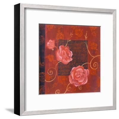 Décor III-Loetitia Pillault-Framed Art Print
