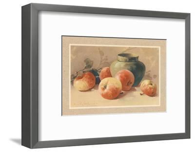 Pommes Rouges-C. Klein-Framed Art Print