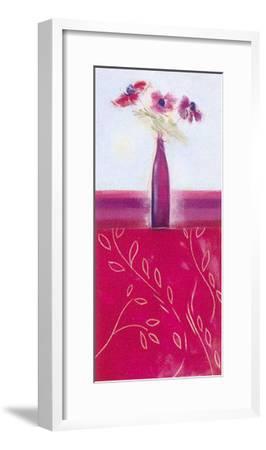 Crimson II-Marilyn Robertson-Framed Art Print