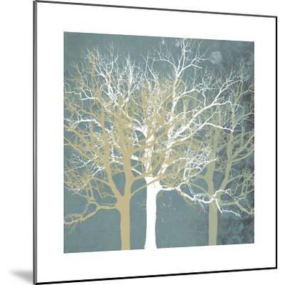 Tranquil Trees-Erin Clark-Mounted Giclee Print