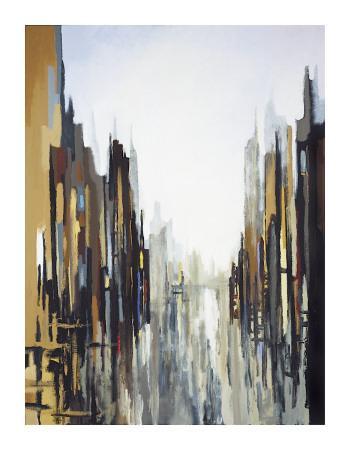 Urban Abstract No. 141-Gregory Lang-Giclee Print
