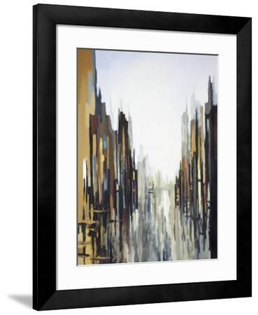 Urban Abstract No. 141-Gregory Lang-Framed Giclee Print