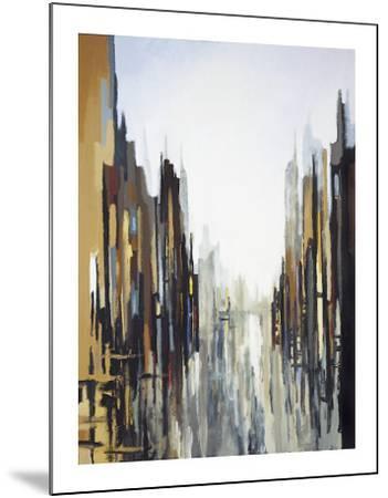 Urban Abstract No. 141-Gregory Lang-Mounted Giclee Print