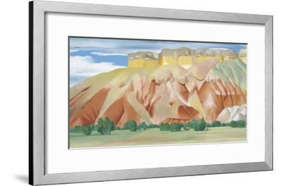 My Back Yard-Georgia O'Keeffe-Framed Art Print