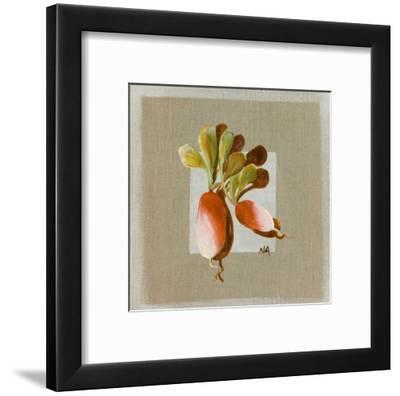 Radis-Nathalie Andrieu-Framed Art Print