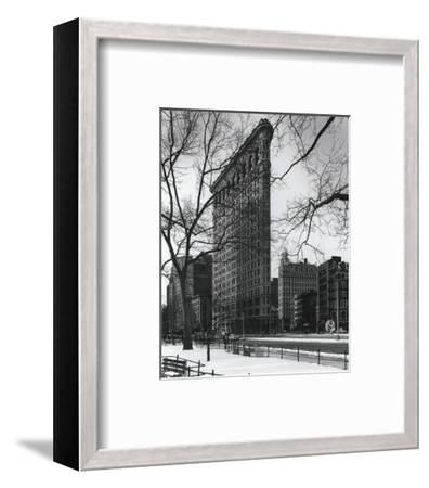 Flatiron Building-Christopher Bliss-Framed Art Print