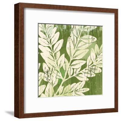 Meadow Leaves-Erin Clark-Framed Art Print