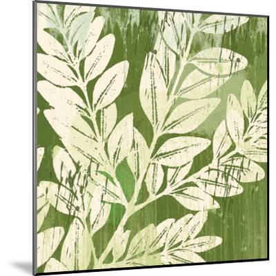 Meadow Leaves-Erin Clark-Mounted Art Print
