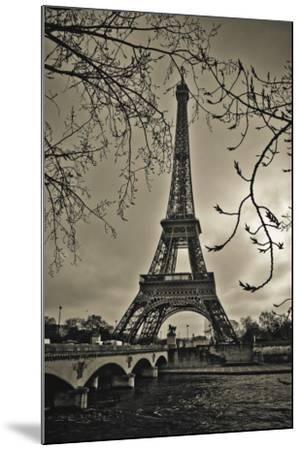 Curves of Eiffel-Sabri Irmak-Mounted Art Print