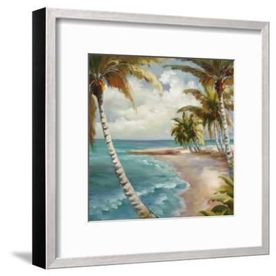 Palm Paradise-Marc Lucien-Framed Art Print