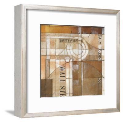 Daily Business-Alec Parker-Framed Art Print