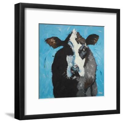 Cow, no. 302-Roz-Framed Art Print