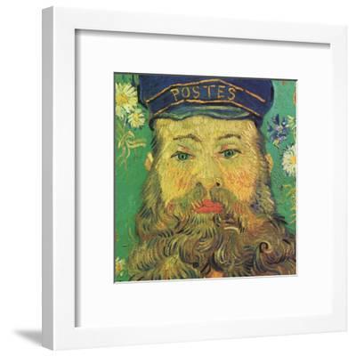 Joseph Roulin (detail)-Vincent van Gogh-Framed Art Print