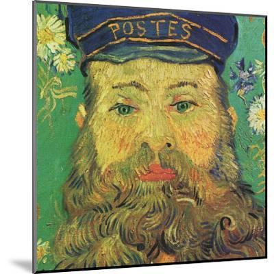 Joseph Roulin (detail)-Vincent van Gogh-Mounted Art Print